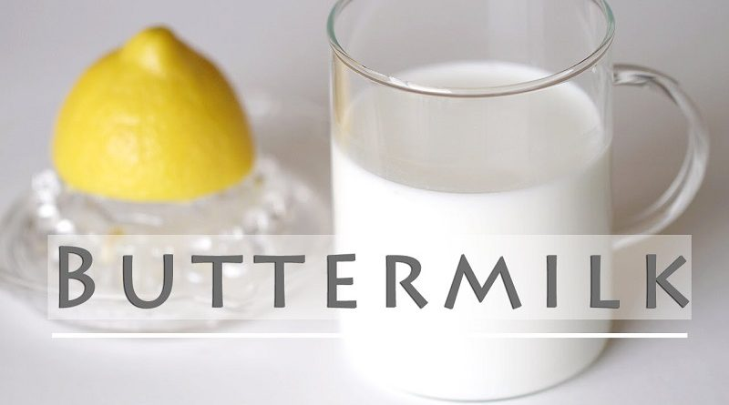 Homemade Buttermilk Recipe