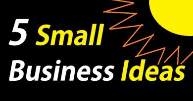 SMALL BUSINESS IDEAS 2018