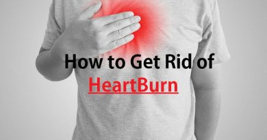 Get rid of heartburn
