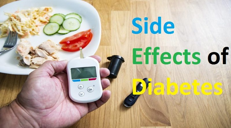 Side Effects of Diabetes